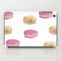 macaron iPad Cases featuring Macaron, Macaron by Malina Syvo