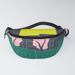 Spring Blooms in the City Fanny Pack