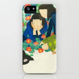 Nasturtium iPhone Case