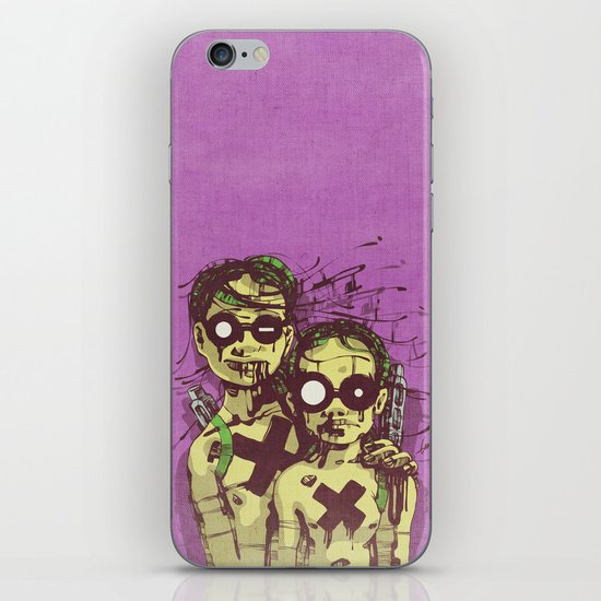 Happiness II iPhone & iPod Skin