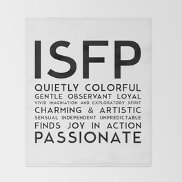 ISFP Throw Blanket