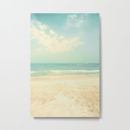 Sea Up To Where My Eyes Can See Metal Print
