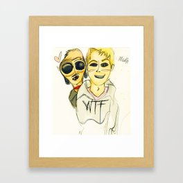 m a n i p u l a t i o n. Sean Fitzgerald.  Framed Art Print