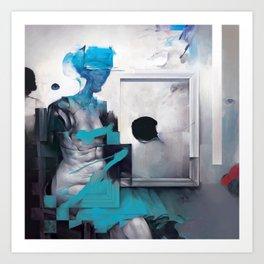 Censored Moods Art Print