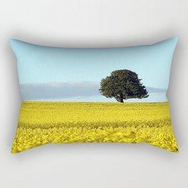 Fife's Golden Fields Of Rapeseed. Rectangular Pillow