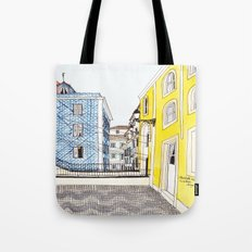 Beautiful Lisbon by Charlotte Vallance Tote Bag