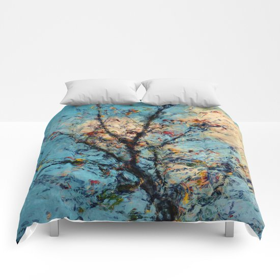 Abstract Tree Comforters