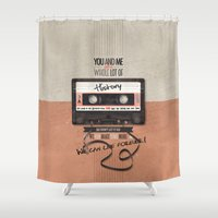 history Shower Curtains featuring History by Art of Nanas