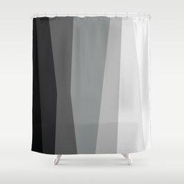 Geometric Harmony Angles Abstract Shower Curtain