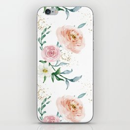 Rose Arrangement No. 1 Pattern iPhone Skin