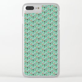 Mermaid Cats Clear iPhone Case