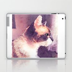 Cat Nick Laptop & iPad Skin