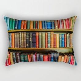 Books. Rectangular Pillow