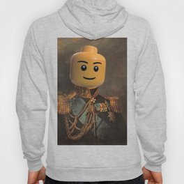Le-go Man General Portait Painting | Fan Art Hoody