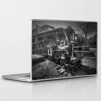 train Laptop & iPad Skins featuring Train by John Hinrichs
