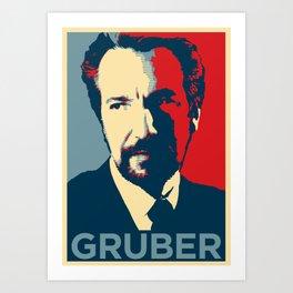 GRUBER Art Print
