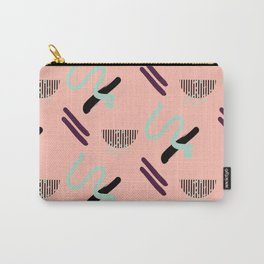 Peach geometry Carry-All Pouch
