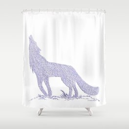 Coyote CREYES Shower Curtain