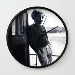 STATUE BOY Wall Clock
