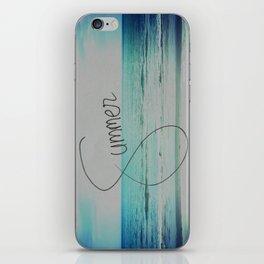 forever summer iPhone Skin