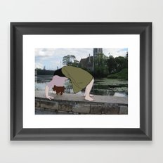 Backbend Framed Art Print