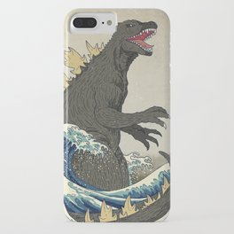 The Great Godzilla off Kanagawa iPhone Case