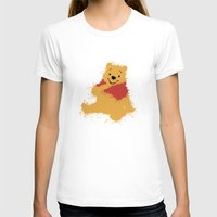 pooh T-shirts featuring Winnie The Pooh by DanielBergerDesign