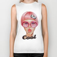 hot Biker Tanks featuring Cool Redux by Giulio Rossi