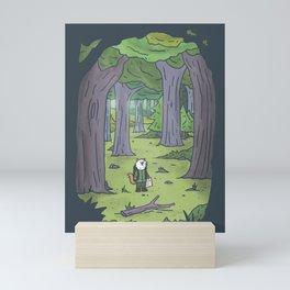 In the Forest Mini Art Print