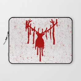 Red Stag Head Laptop Sleeve