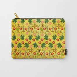 Tropical Island Unicorn Carry-All Pouch