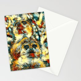 AnimalArt_Meerkat_20171001_by_JAMColorSpecial Stationery Cards