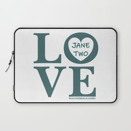 Love Jane Two Laptop Sleeve