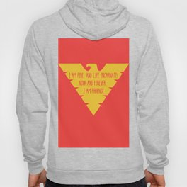 i am fire and life incarnate now and forever i am dark phoenix Hoody