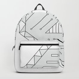 Robot technology #society6 #decor #buyart #artprint Backpack