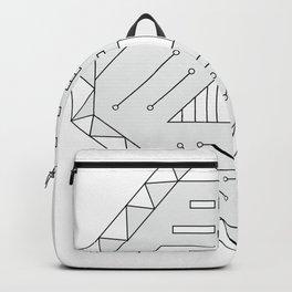 Robot technology #society6 #decor #buyart #artprint Backpack
