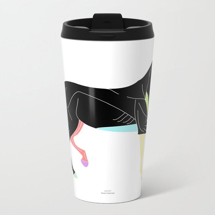 HEST (c) Metal Travel Mug