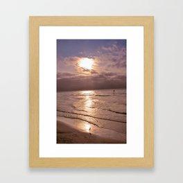 10003 Beach Pastel 1 Framed Art Print
