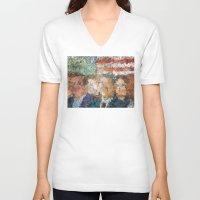 patriots V-neck T-shirts featuring Patriots Gathering by politics
