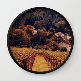 Vaduz Wall Clock