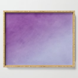 Chérissent Gradient in HUES of PURPLE Home Decor Serving Tray
