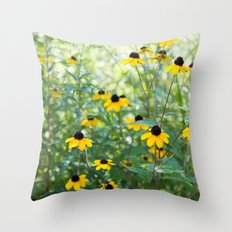 August Mornings Throw Pillow