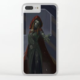 Ascension XXXVII - Red Clear iPhone Case