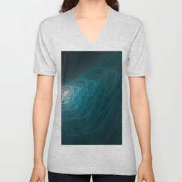 Marble in Water Unisex V-Neck