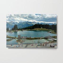 adventure park hög alps serfaus fiss ladis tyrol austria europe Metal Print