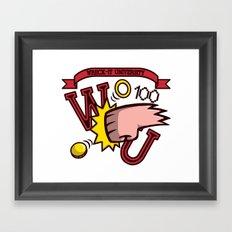 Wreck-It Ralph: Wreck-It University Framed Art Print