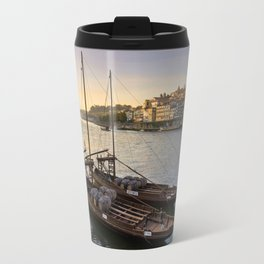Oporto sunset,  Portugal Travel Mug
