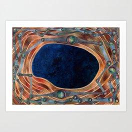 Night Portal Dream Art Print