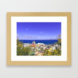 The Pearl Of The Mediterranean Sea Framed Art Print