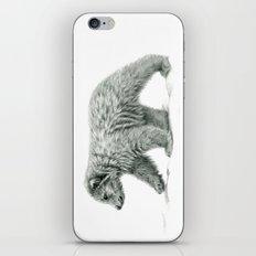 Polar bear's cub   B/W bis G2011-16 iPhone & iPod Skin